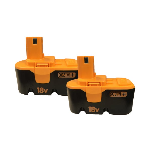 2PK Ryobi P100 ONE+ 18V 1.5m-Ah 1500mAh NiCd Batteries