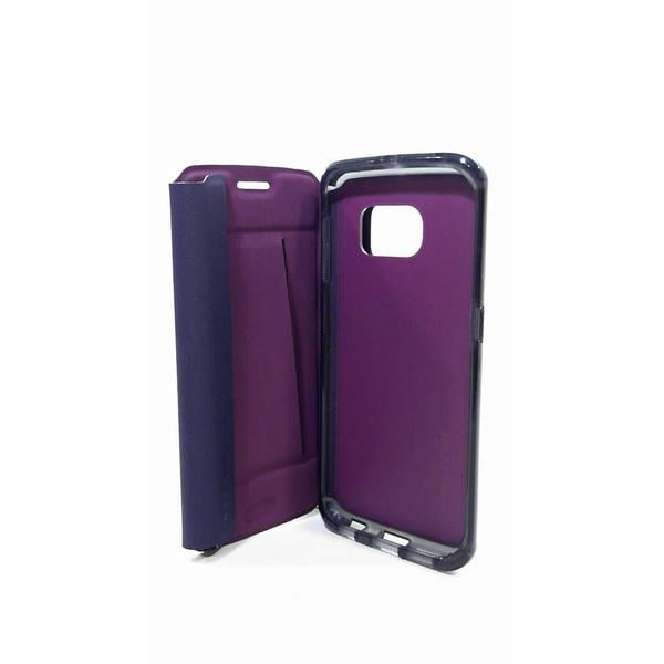 Tech21 Evo Frame Wallet Galaxy S6 Edge - Purple (Refurbished)