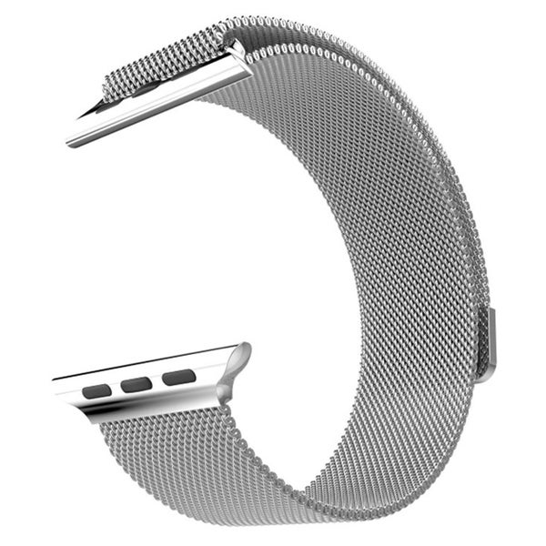 Milanese Loop for Apple Watch 38mm (Silver)