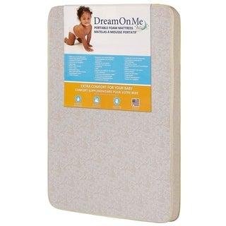 Dream on Me 3-inch Foam Pack N Play Mattress