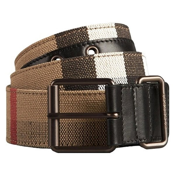 Burberry Chekory Beige Check Belt