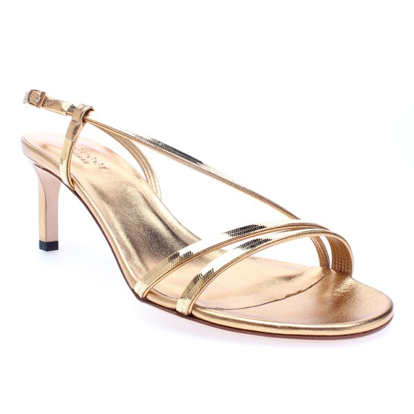 Gucci 'Othilia' Gold Chain Mid Heel Sandal