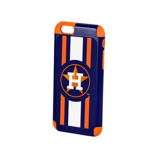 Forever Collectibles MLB Houston Astros 2-piece Orange Dual Hybrid TPU Ai6 Cover