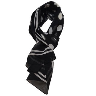 LA77 Polka Dot Long Scarf