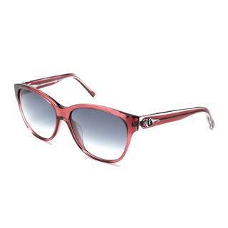 John Galliano JG0089s Pink Plastic Translucent Retro Sunglasses