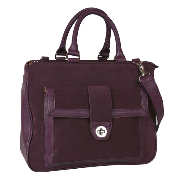 Buxton Newbury 13-inch Laptop and Tablet Tote Bag