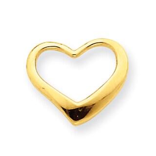 14k Yellow Gold Heart Timeless Pendant