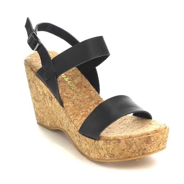 Beston CC76 Women's Buckle Strap Sandals 17571352