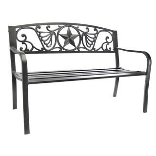 Jordan Manufacturing Lonestar Outdoor Bench