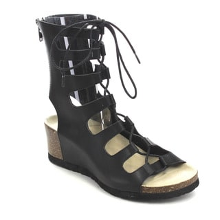 Beston CC84 Women's Wedge Gladiator Sandals