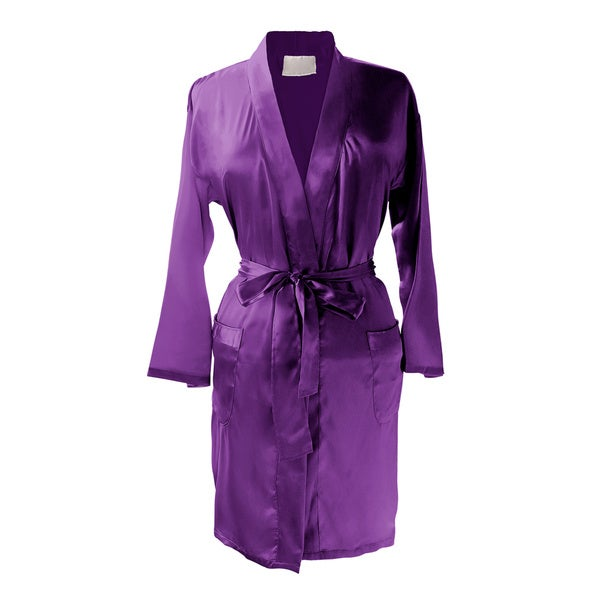 Layla Luxury Satin Kimono Robe
