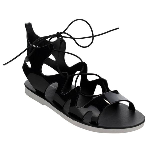 Beston CC80 Women's Jelly Gladiator Sandals 17571613