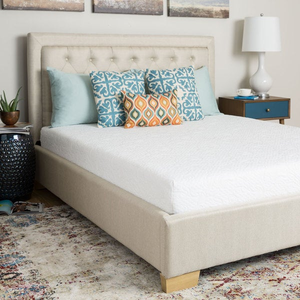 Spring Air 8-inch Queen-size Memory Foam Mattress