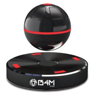 B4M ORB-Dark Black Portable Wireless Bluetooth/ NFC 4.1 Floating Maglev Speaker