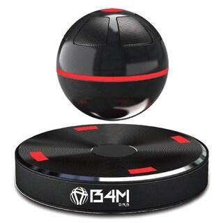 B4M ORB-Dark Black Portable Wireless Bluetooth/ NFC 4.1 Floating Maglev Speaker