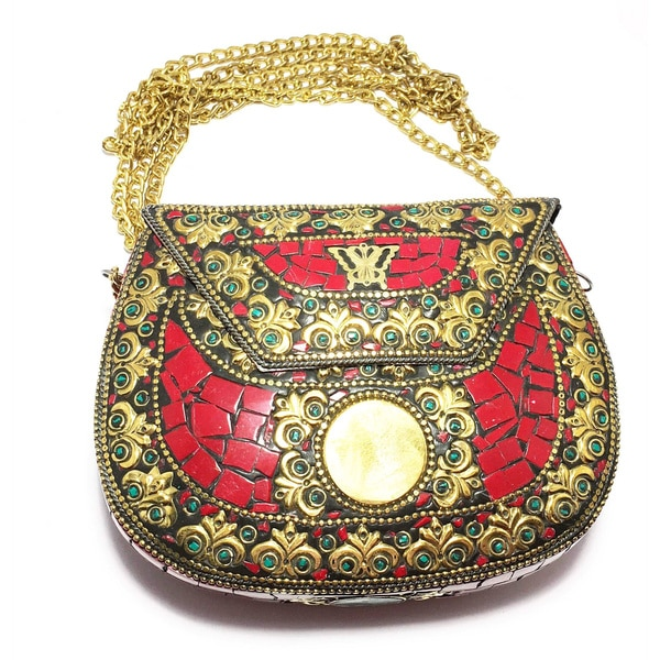 Tiara Global Mosaic Evening Bag