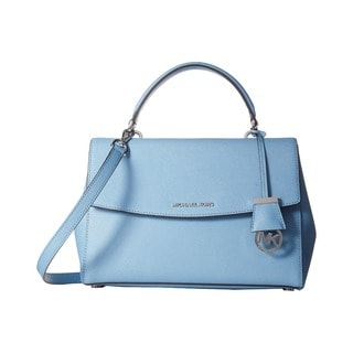 Michael Kors Ava Medium Sky Blue Top Handle Satchel Handbag
