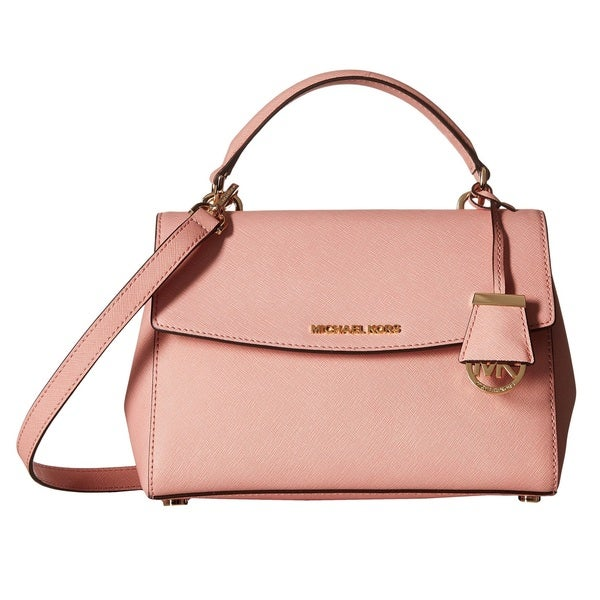 Michael Kors Ava Pale Pink Small Top Handle Satchel Handbag