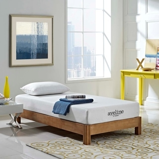 Aveline 8-inch Gel Memory Foam Mattress - White