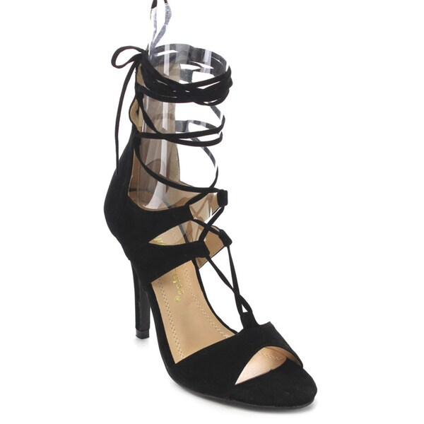 Beston CC68 Women's Stiletto Gladiator Sandals 17572586