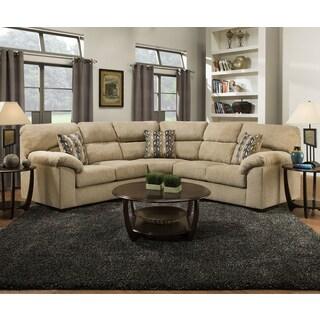 Simmons Upholstery Hometown Sesame Sectional