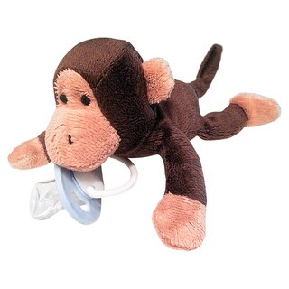 Anamazees Morry the Monkey The First 5-in-1 Pacifier Holder