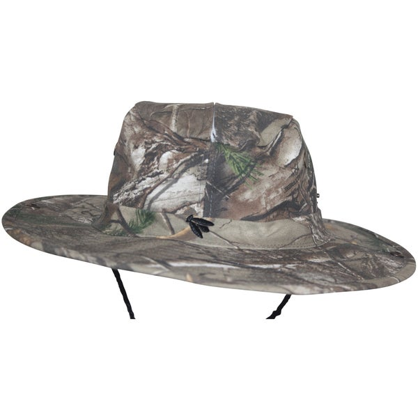Bughat Trailblazer Mosquito Net Hat-forest Camo Unisex Sun and Bug Protection 50+ Sun Protection Hat-mosquito Hat-bug Hat