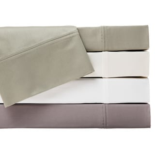Rizzy Home Paisley Park Hemstitch 400 Thread Count Solid Cotton Sheet Set