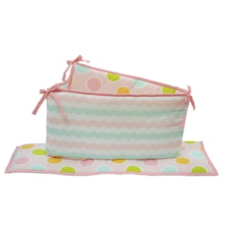 Belle Sea Sweetie Crib Bumper