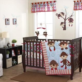 Belle Max 3-piece Boy Crib Bedding Set