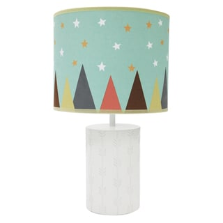 Little Haven Clever Fox Lamp with Shade