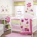 Belle Lil Lady Bug 3-piece Girl Crib Bedding Set