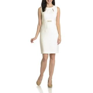 Tahari Arthur S. Levine Women's Cut-Out Detail Dress