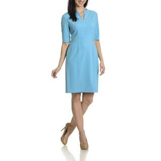 Tahari Arthur S. Levine Women's Studded Waist Detail Dress