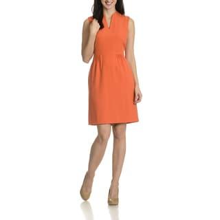 Tahari Arthur S. Levine Women's Pleated Detail Dress