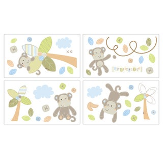 Little Haven Go Bananas Wall Decals