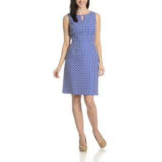 Tahari Arthur S. Levine Women's GeoPrint Dress
