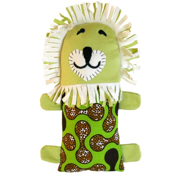 Handcrafted Little Friends Lion (Malawi)