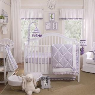 Petit Tresor Papillon 4-piece Crib Bedding Set