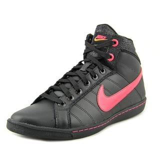 Nike Women's 'Court Tradition LT Mid SI' Leather Athletic