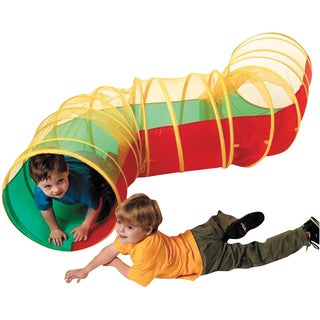 Schylling Pop Up Company Zig-A-Zag Tunnel Tent