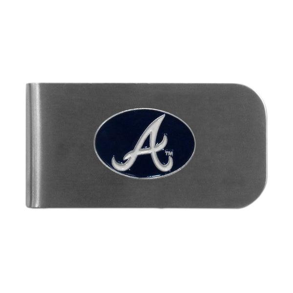 Atlanta Braves Sports Team Logo Bottle Opener Money Clip