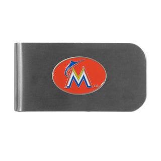 Miami Marlins Sports Team Logo Bottle Opener Money Clip