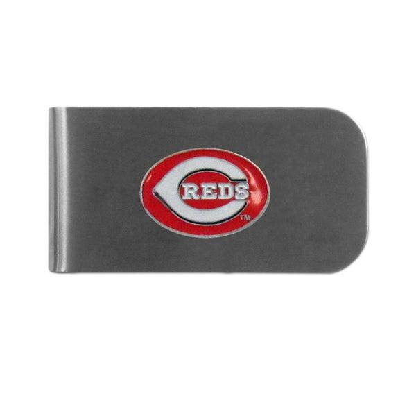 Cincinnati Reds Sports Team Logo Bottle Opener Money Clip