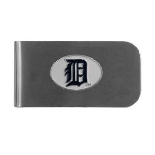 Detroit Tigers Sports Team Logo Bottle Opener Money Clip