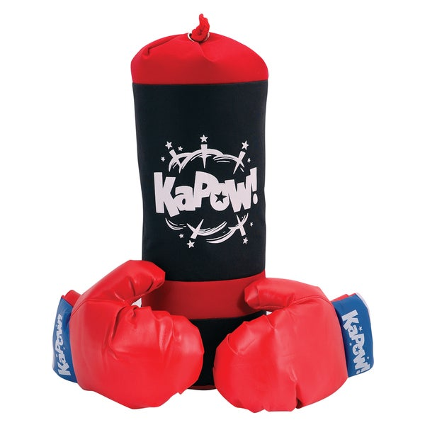 Schylling Punching Bag and Glove Set