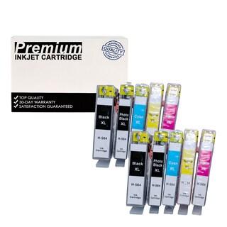 10Pk SET Compatible HP 564XL (CN684WN) KKCYM InkJet Cartridge COMBO CB321WN CB322WN CB323WN CB324WN CB325WN 2 COMBO