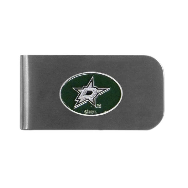 Dallas Stars Sports Team Logo Bottle Opener Money Clip