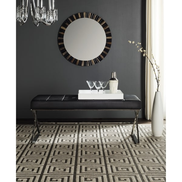 Safavieh Micha Black Bench