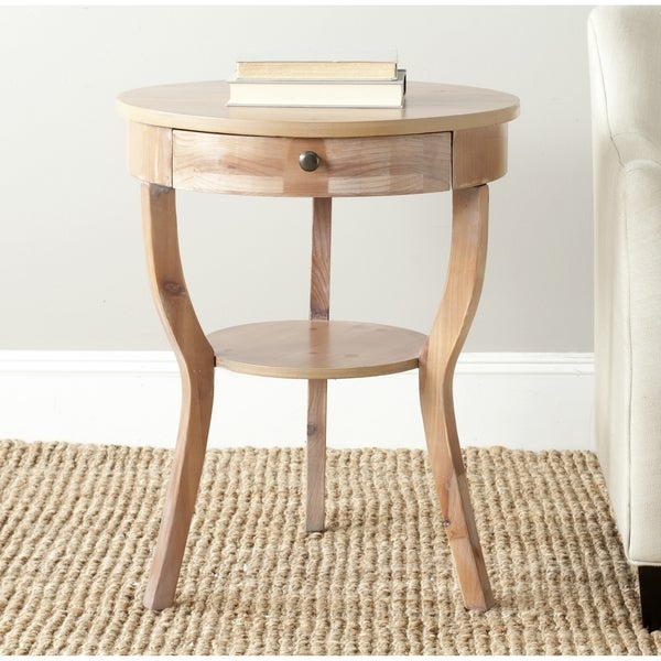 Safavieh Kendra Red Maple Storage End Table